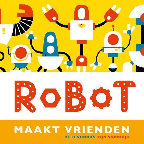 #79. Vrolijk gekleurd en op rijm: Robot maakt vrienden