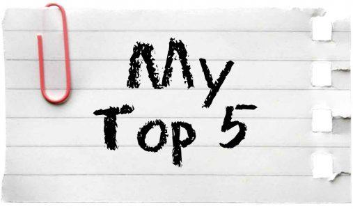 #240. Mijn Top 5 van de leukste boeken over Eten!