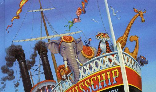 #157. Perfect verstopt!: Het circussschip