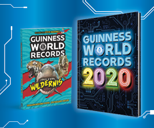#235. Uren bladeren!: Guinness World Records 2020