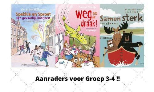#254. Drie aanraders voor Groep 3-4!: Spekkie & Sproet, Juf Fiep, In het Wilde Woud
