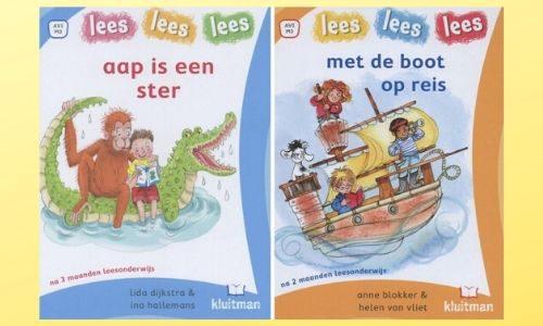 #256. Super leuke 1e leesboekjes!: Aap is een ster & Met de boot op reis